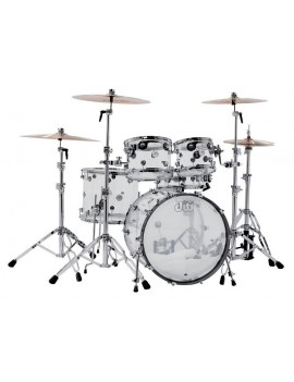 Drum Workshop Shell Set Design Acrilico 22\'\'/10\'\'/12\'\'/16\'\'/14\'\'