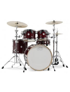 Drum Workshop Shell Set Design- CHERRY STAIN 20\'\'/12\'\'/14\'\'/14\'\'