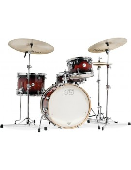 Drum Workshop Shell Set Design-TOBACCO 22\'\'/10\'\'/12\'\'/16\'\'