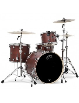 Drum Workshop Shell Set Performance Finish Ply / Satin Oil- TOBACCO 22\'\'/12\'\'/16\'\'