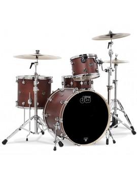 Drum Workshop Shell Set Performance Finish Ply / Satin Oil- TOBACCO 22\'\'/12\'\'/16\'\'