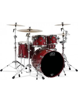 Drum Workshop Shell Set Performance Lacquer- CHERRY STAIN 24\'\'/12\'\'/16\'\'