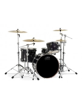 Drum Workshop Shell Set Performance Lacquer- EBONY 22\'\'/12\'\'/16\'\'