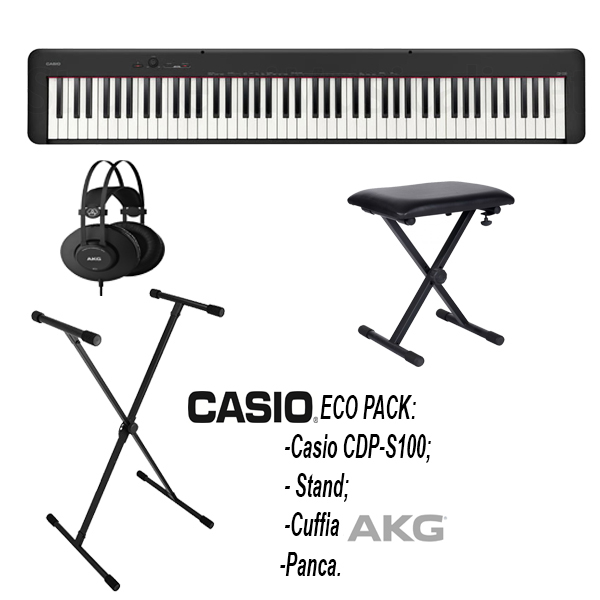 CAsio CDP-S100 Economy Pack