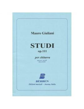 Studi Op 111 Di Mauro Giuliani