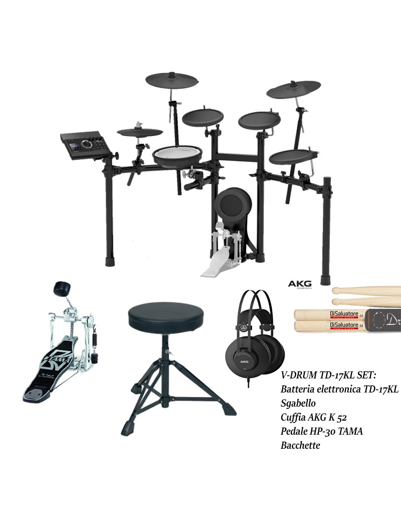 V-Drum TD17KL Bundle kit