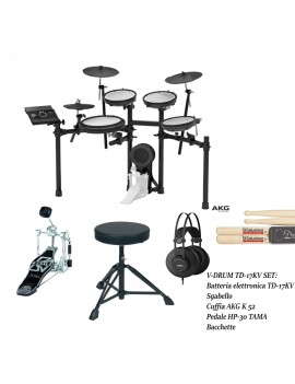 V-Drum TD17KV Bundle kit