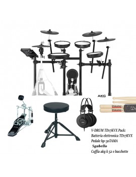 V-Drum TD17KVX Bundle kit