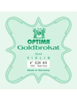 Optima corde per violino Lenzner Goldbrokat Violin