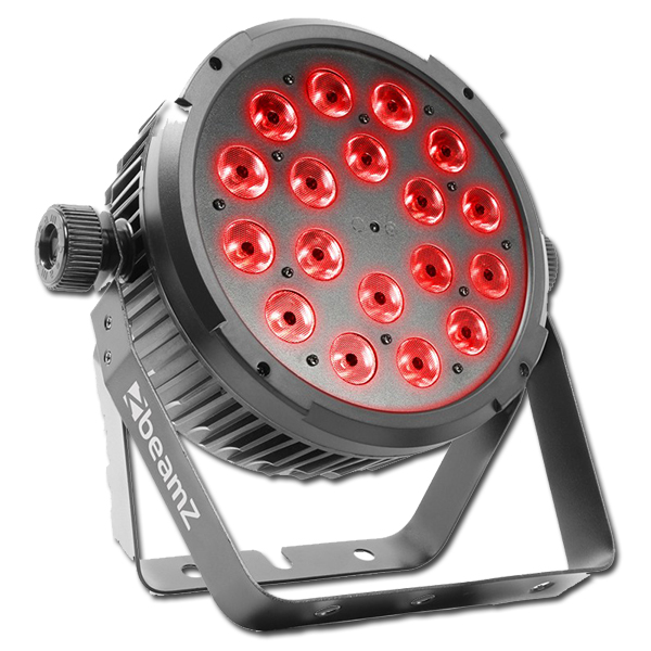 BEAMZ BT320 LED Flat PAR 18x6W 4-1 RGBW