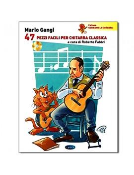 GANGI 47 pezzi facili per chitarra classica
