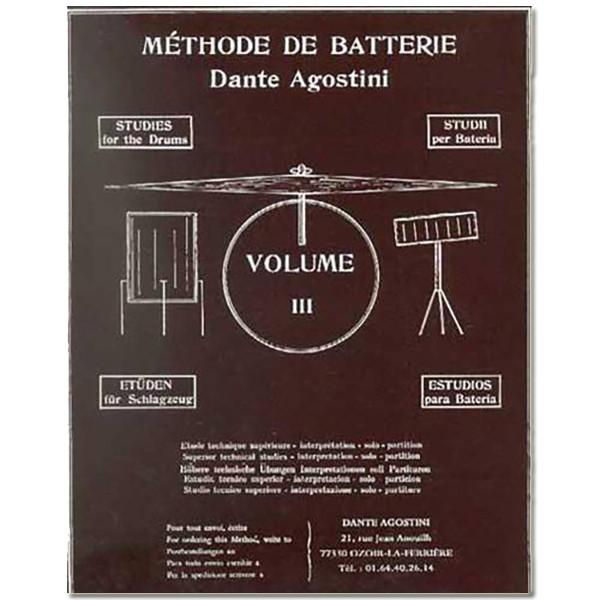 DAnte AGostini Méthode de Batterie - Volume 3