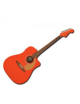 Redondo Player Walnut Fingerboard Fiesta Red