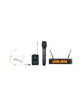QWM-2 Dual Combo ( Handheld +Earset ) 863-865