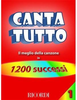 Cantatutto Vol. 1Il Meglio Della Canzone In 1200 Successi