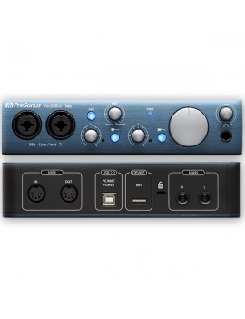 PRESONUS AUDIOBOX itwo Scheda audio USB 2in 2 out