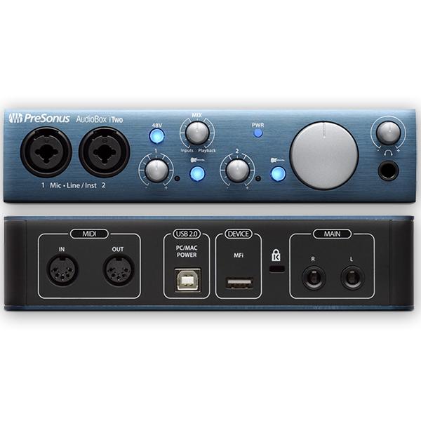 PRESONUS AUDIOBOX itwo Scheda audio USB 2in 2 out