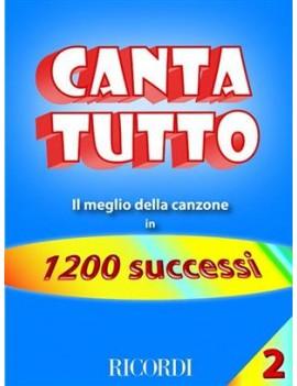 Cantatutto Vol. 2Il Meglio Della Canzone In 1200 Successi