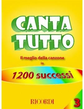 Cantatutto vol.3Il Meglio Della Canzone In 1200 Successi