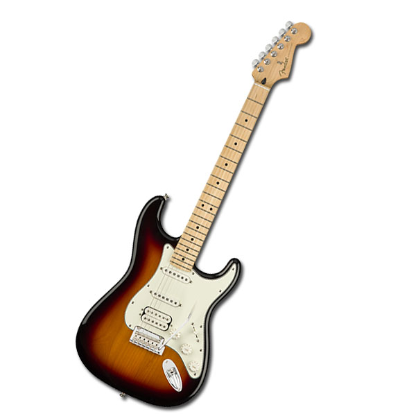 Player Stratocaster HSS Maple Fingerboard 3 Color Sunburst