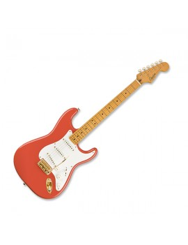 Classic Vibe \'50s Stratocaster Maple Fingerboard Fiesta Red with Gold Hardware
