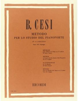 Metodo Per Lo Studio Del Pianoforte - Fasc. III