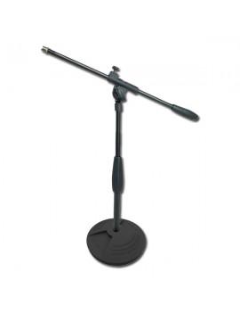 Supporto microfono da tavolo base in ghisa
