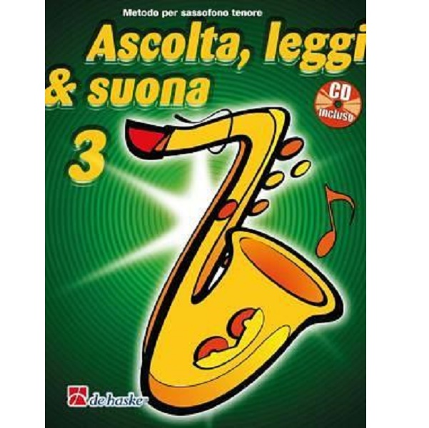 Ascolta, Leggi & Suona 3 sassofono contralto