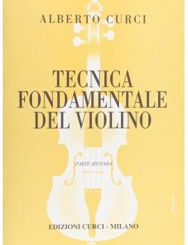 Tecnica Fondamentale Del Violino 2. Alberto Curci.