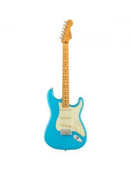 American Professional II Stratocaster tastiera in acero Miami Blue