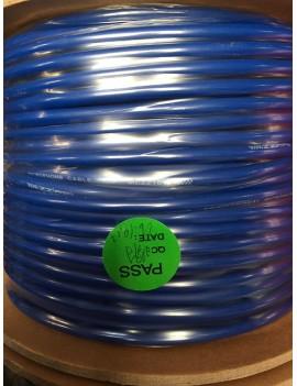 Cavo microfonico blu standard quality 2x0,24mm ø 6mm 1 mt.