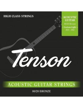 Tenson Bronze .011-.052,Custom Light Set+