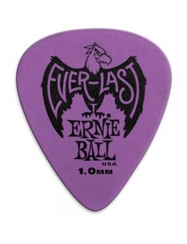 ERNIE BALL - 9193 PLETTRI EVERLAST PURPLE 1.00MM BUSTA DA 12