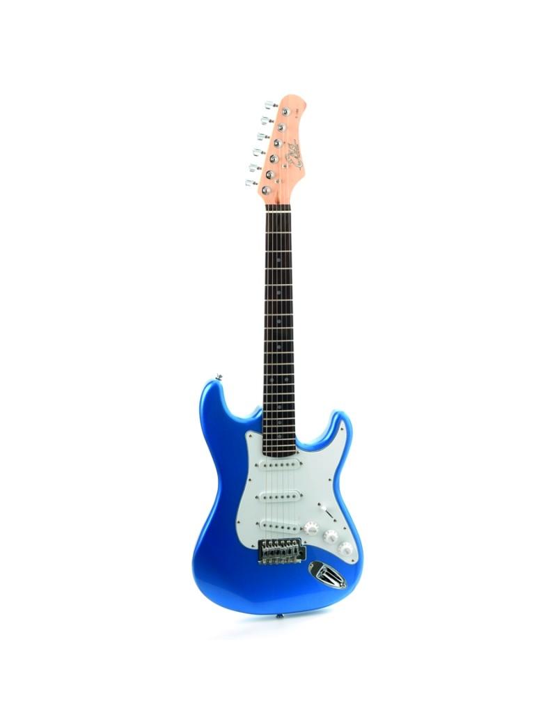 EKO GUITARS - S-100 3/4 METALLIC BLUE