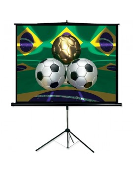 """PST112 Tripod Projection Screen - 112"""""""