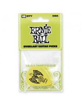 ERNIE BALL - PLETTRI EVERLAST GREEN 1.5MM BUSTA DA 12