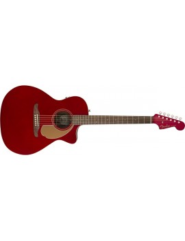 Newporter Player, Walnut Fingerboard, Candy Apple Red