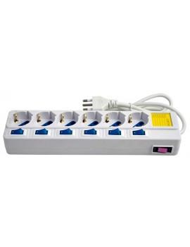CC 9520 Multipresa elettrica a 6 posti (16 A - 1,5 Mt)