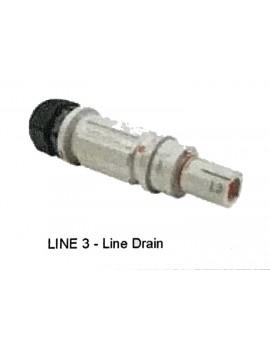 CONNETTORE UNIPOLARE 400A LINE DRAIN GRIGIO L3