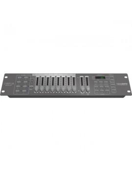 Controller con 128 canali dmx, 8 UNITà DA 16 CANALI MAX, 2u/19