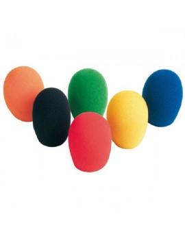Coperture universali a colori in spugna per microfono.