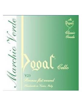 Corda SOL DOGAL VIOLONCELLO LINEA VERDE 4/4-3/4 IN ACCIAIO