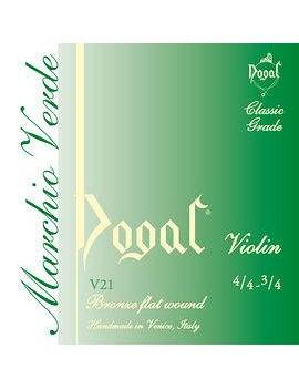 CORDE VIOLINO 4/4-3/4 BRONZO DOGAL VERDI