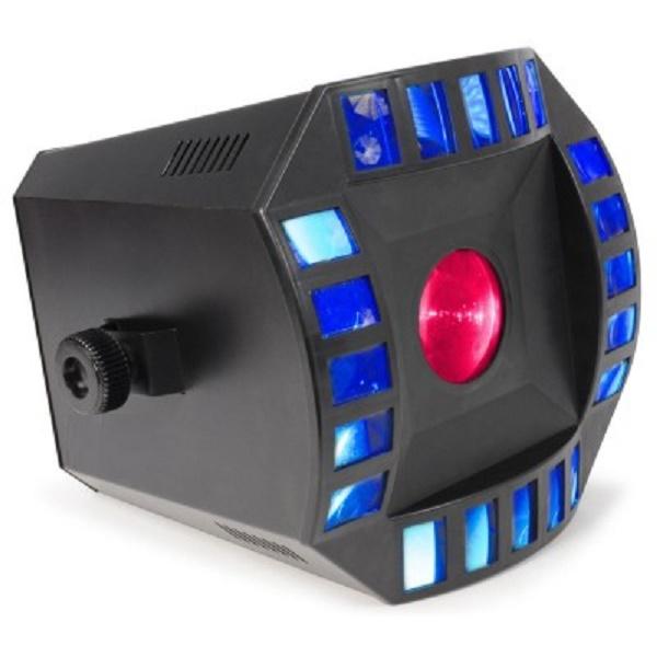 Cube4 - 2x 10W Quad LED + 64 RGB LEDs DMX