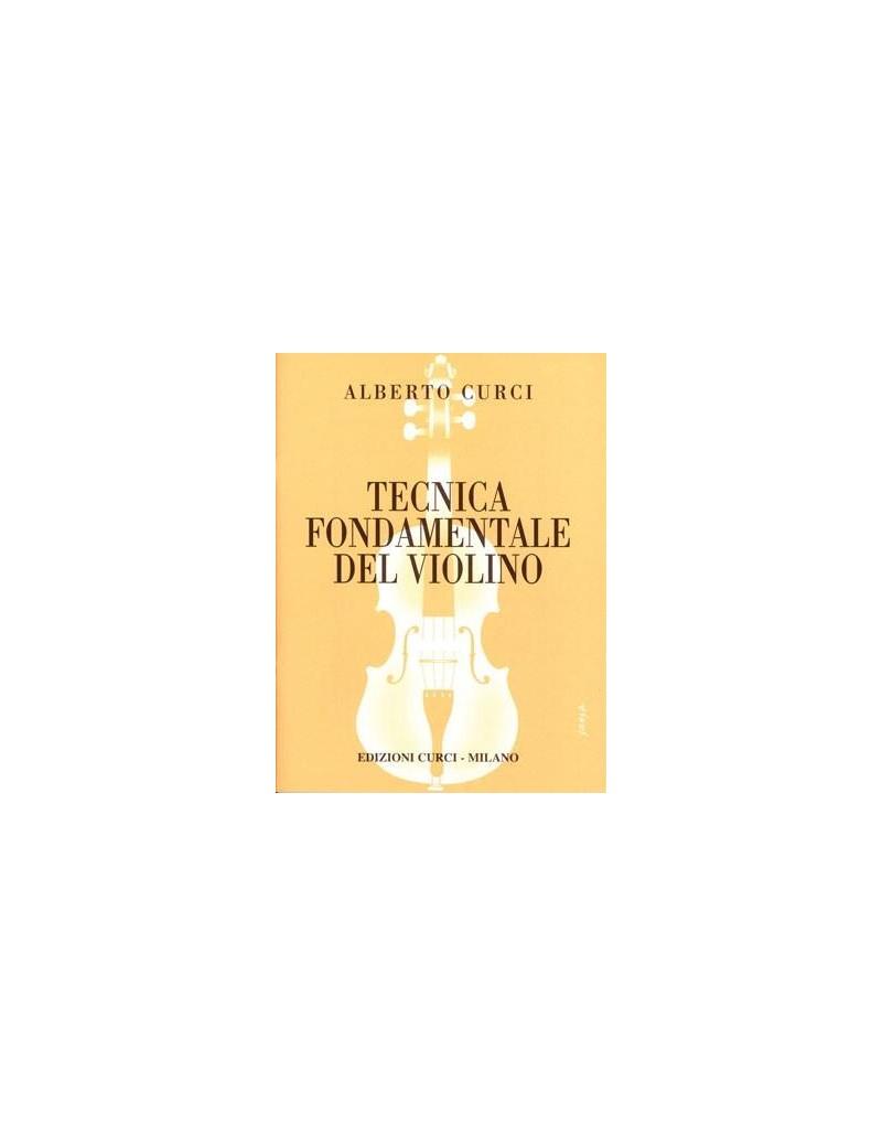 tecnica fondamentale del violino parte 2  CURCI A. TECNICA FONDAMENTALE DEL VIOLINO PARTE PRIMA