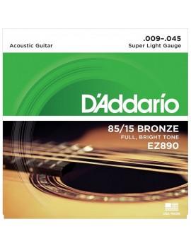DADDARIO EZ890 Super Light .009-.045 Great American Bronze RW