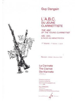 DANGAIN G. ABC DU JEUNE CLARINETTISTE VOL. 1