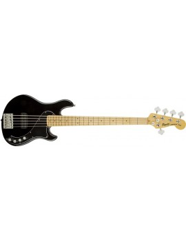 Deluxe Dimension Bass™ V, Maple Fingerboard, Black
