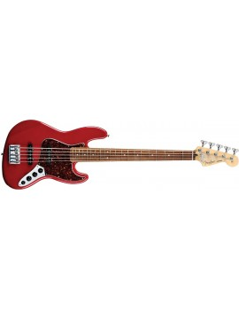 Deluxe Jazz Bass® V (5-String), Rosewood Fingerboard, Candy AppleRed