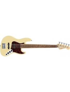 Deluxe Jazz Bass® V (5-String), Rosewood Fingerboard, Vintage White